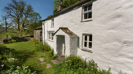 The exterior at Thrang, Seathwaite, Lake District, Cumbria