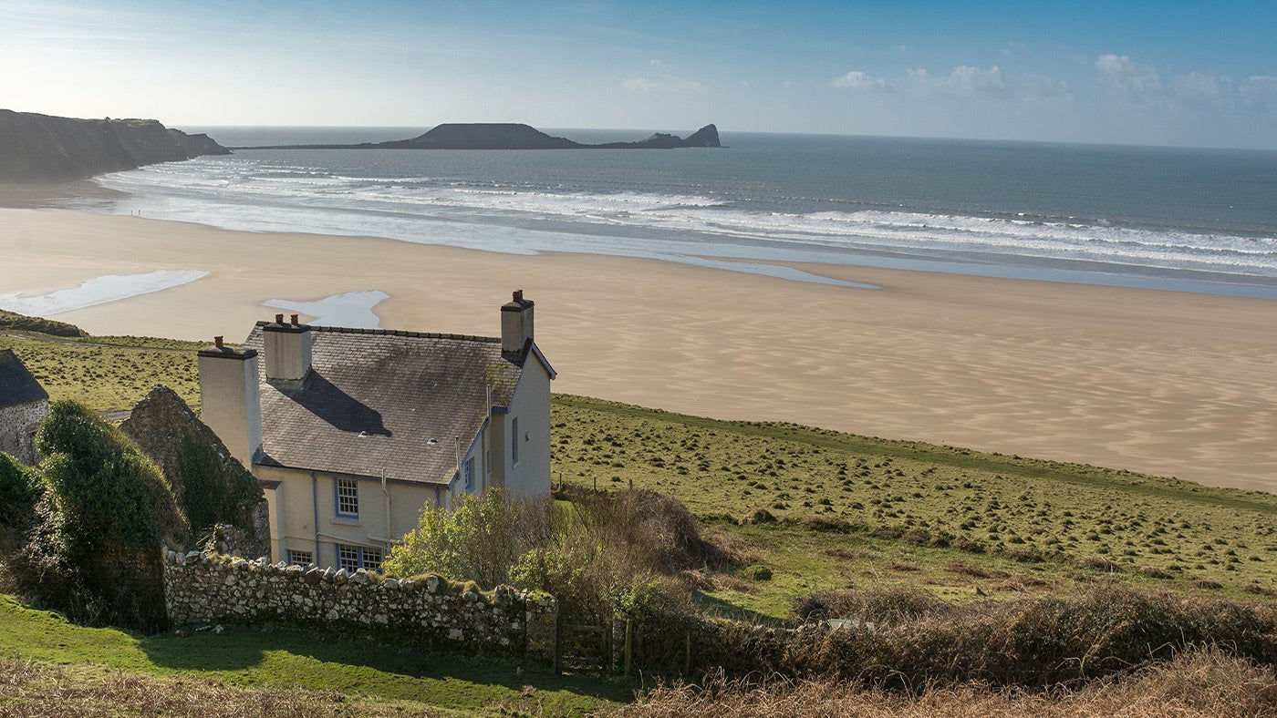 Marvelous Coastal And Sea View Holiday Cottages Uk National Trust Interior Design Ideas Gresisoteloinfo
