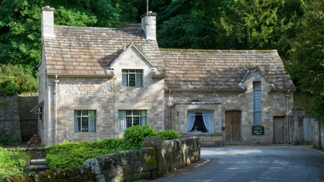 The exterior of Abbey Cottage, nr Ripon, Yorkshire