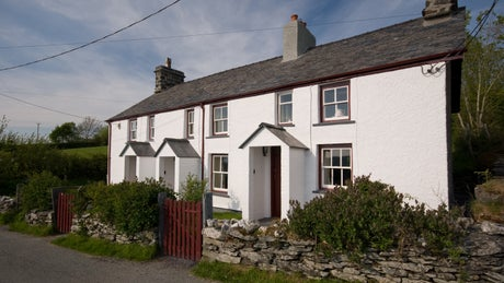 Exterior of 3 Siloam Cottage, nr Betws-y-Coed, Conwy