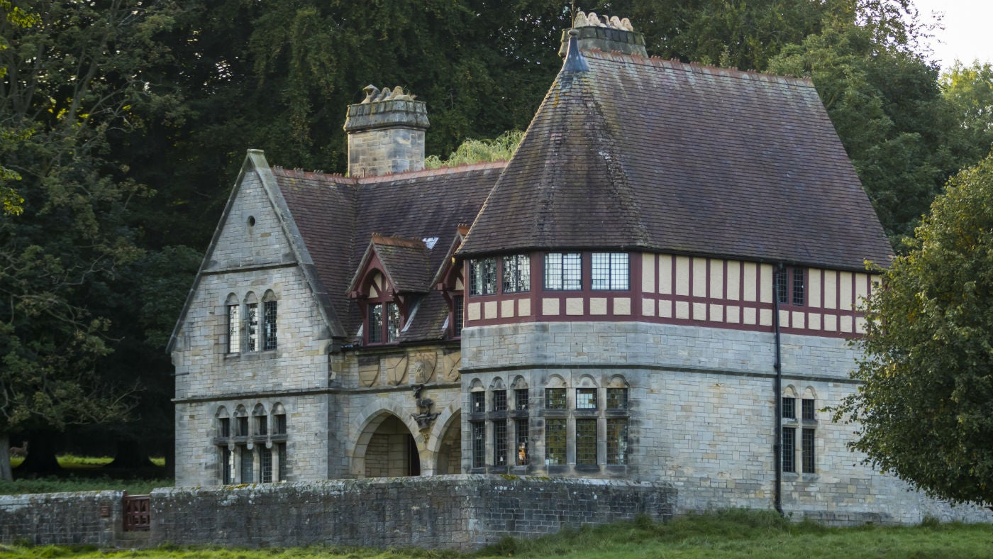The exterior of Choristers' House, nr Ripon, Yorkshire