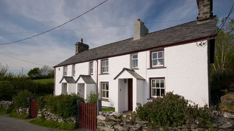 Exterior of 2 Siloam Cottage, nr Betws-Y-Coed, Conwy