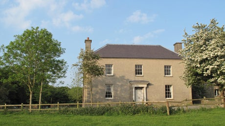 Exterior of Manor House, Stackpole, Pembrokeshire