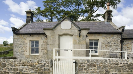 The exterior of Peel Bothy, Hexham, Northumberland