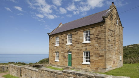 The exterior of Low Peak, Ravenscar, Yorkshire