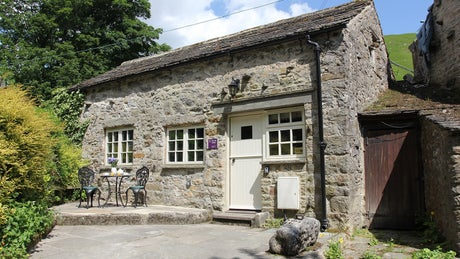The exterior of The Old Smithy, nr Skipton, Yorkshire