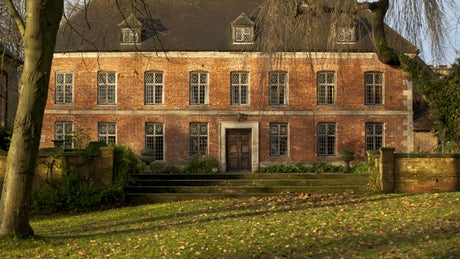 The exterior of Norbury Manor, Ashbourne, Derbyshire