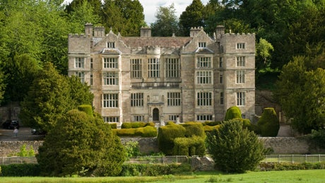 The exterior of Proctor at Fountains Hall, nr Ripon, Yorkshire