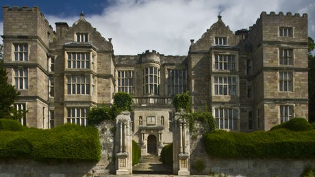 The exterior of Vyner at Fountains Hall, nr Rippon, Yorkshire