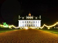 Garden lights at Kingston Lacy