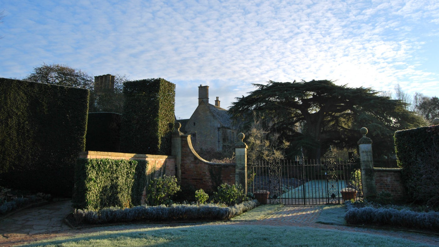 The Circle on a frosty winter morning