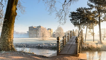Winter scene at Croome