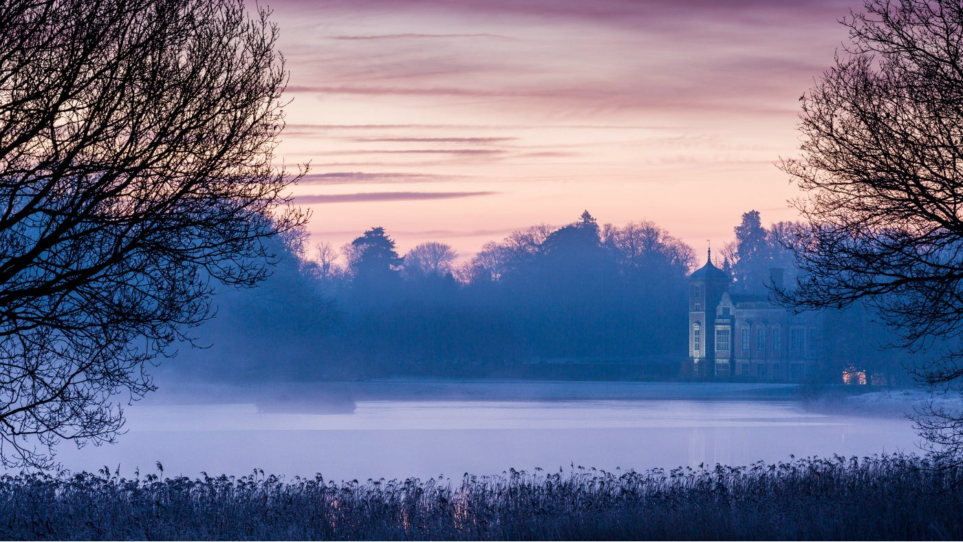 Blickling in the mist
