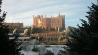 A view of National Trust, Powis Castle, in the snow