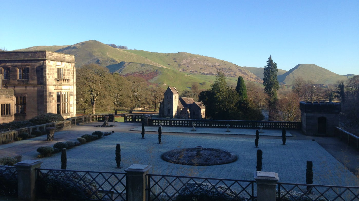 Frosty views at Ilam Park
