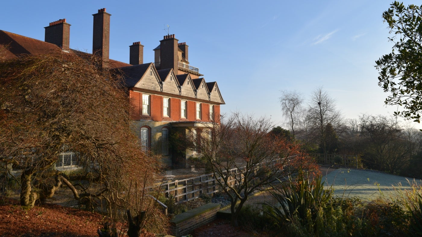 Standen in the Winter