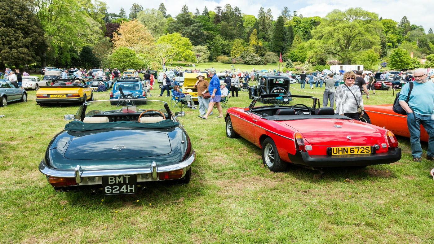 Pit Stop At Killerton's Classic Car Day