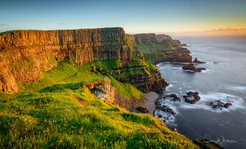 Benbane Head along the Causeway Coast Way, voted Northern Ireland's 'Most Epic View'.