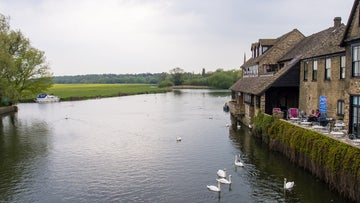 River Great Ouse at St Ives Cambridgeshire