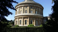 View of Ickworth Rotunda from Stumpery/Spring Garden area.