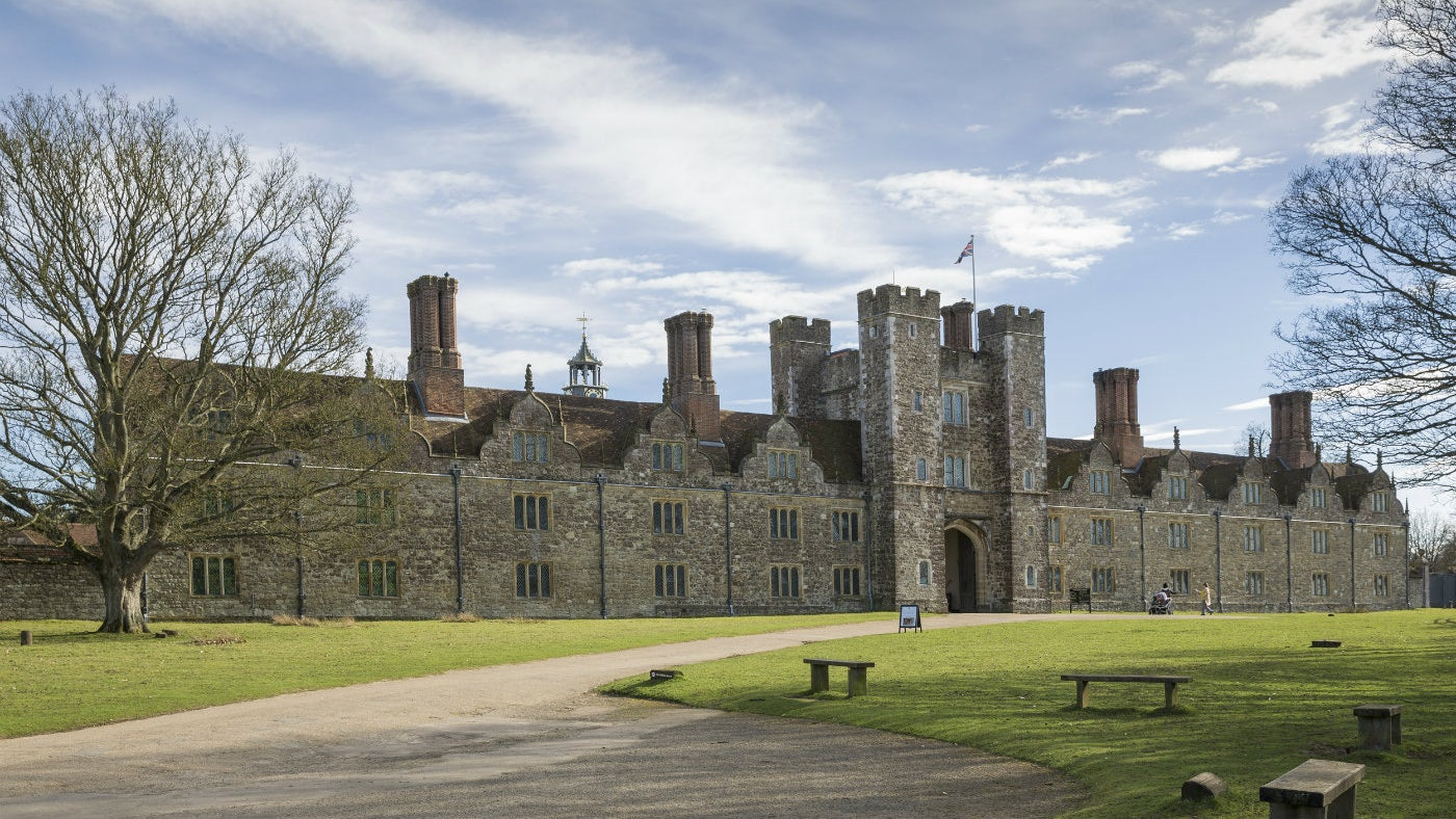 The exterior of Knole
