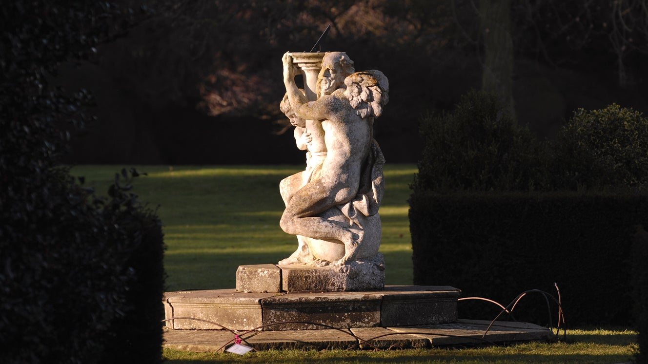 Belton's sundial was made famous in Helen Creswell's book 'Moondial'