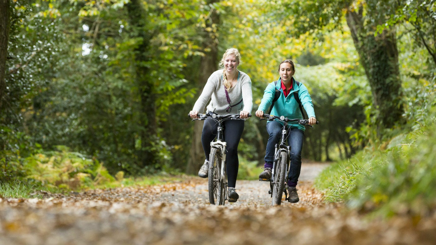 Enjoy a bike ride at National Trust places