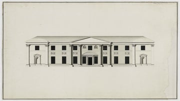 James Wyatt designed a new house for Sir Thomas Acland at Killerton, Exeter, in 1772