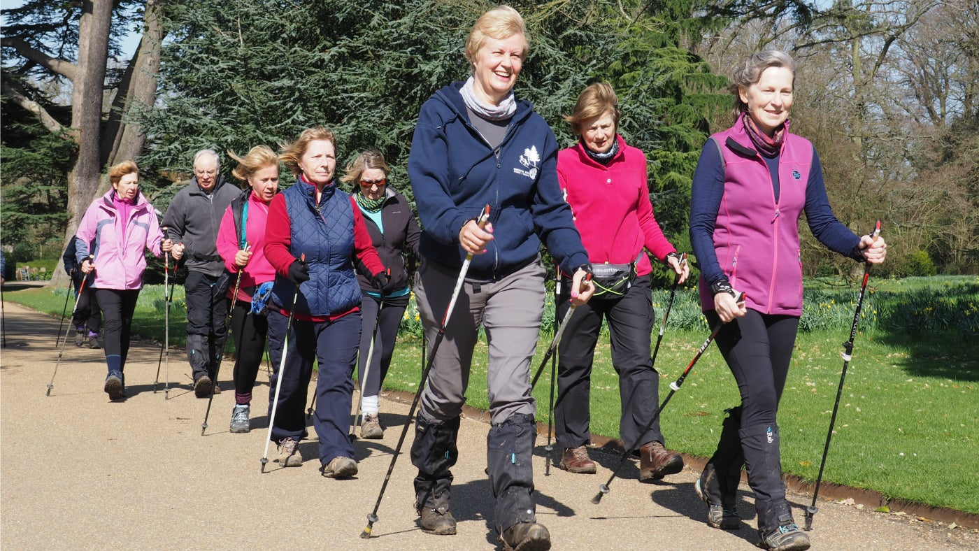 Nordic Walking group session