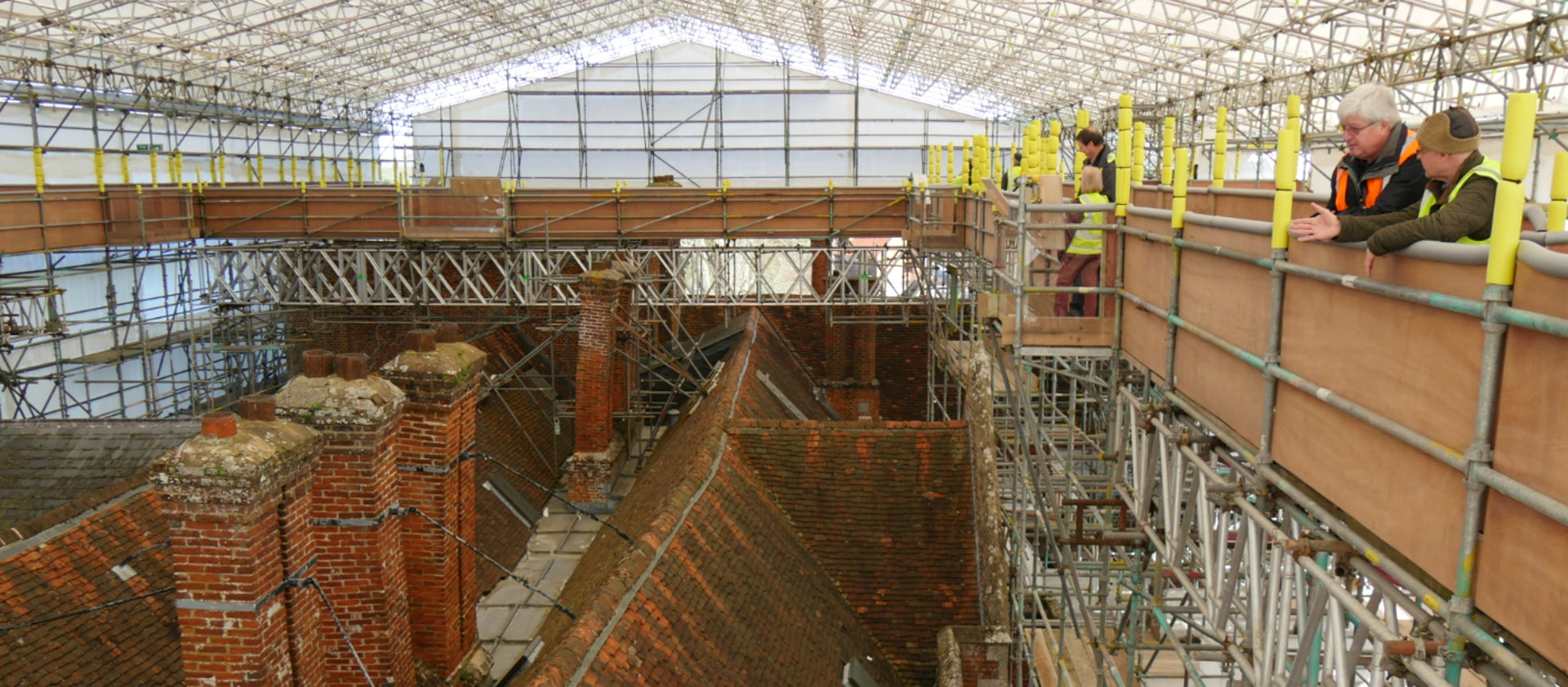 Rooftop Walkway Showcases Heritage Science At The Vyne