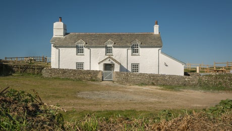 The exterior view of Stepper View, Cornwall
