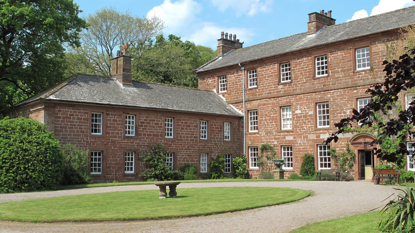 The exterior of Sand Wath, near Penrith, Cumbria