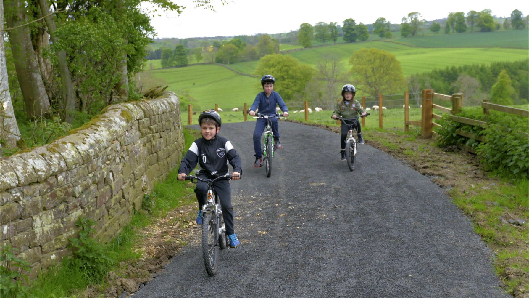 Wallington cycle trail