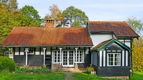 The exterior of Henman Bunkhouse, Dorking, Surrey