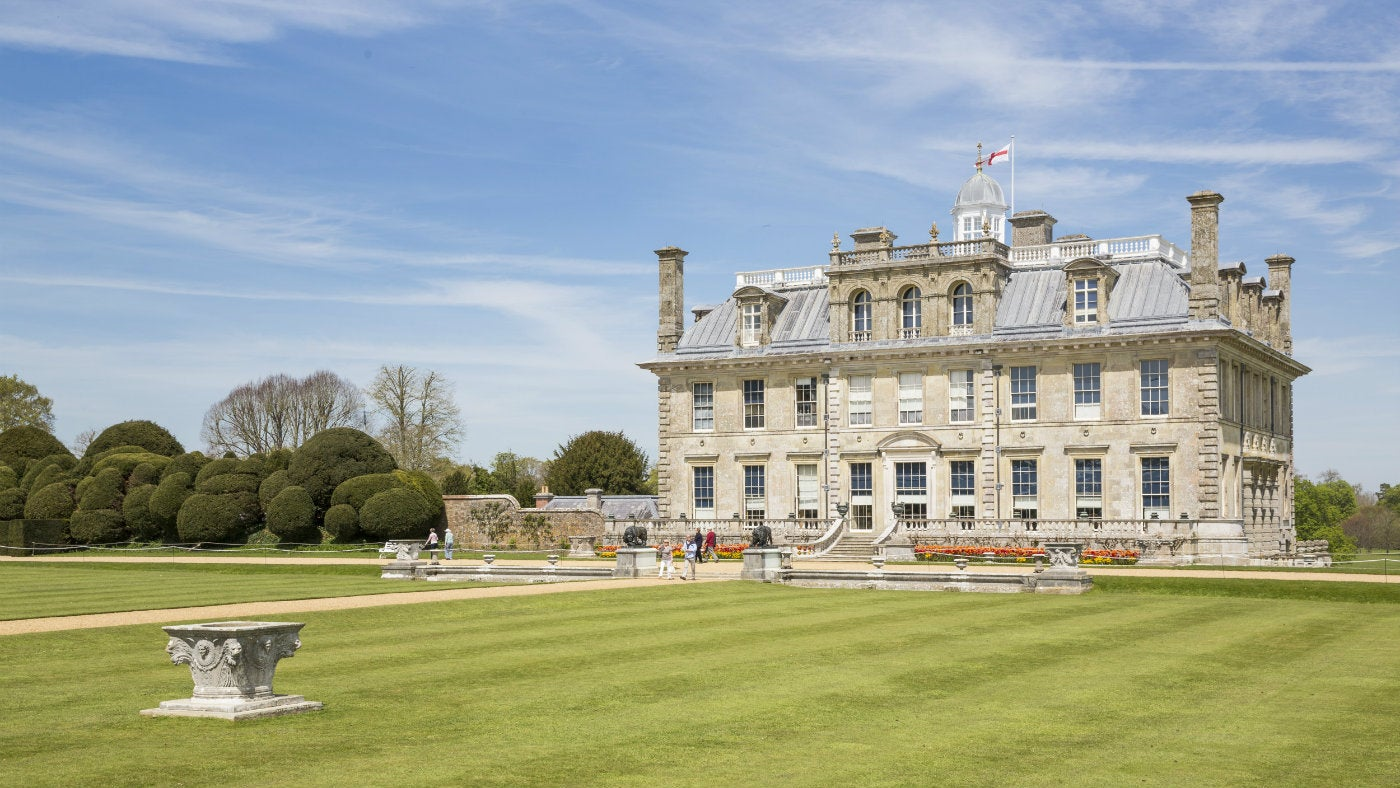 The house at Kingston Lacy