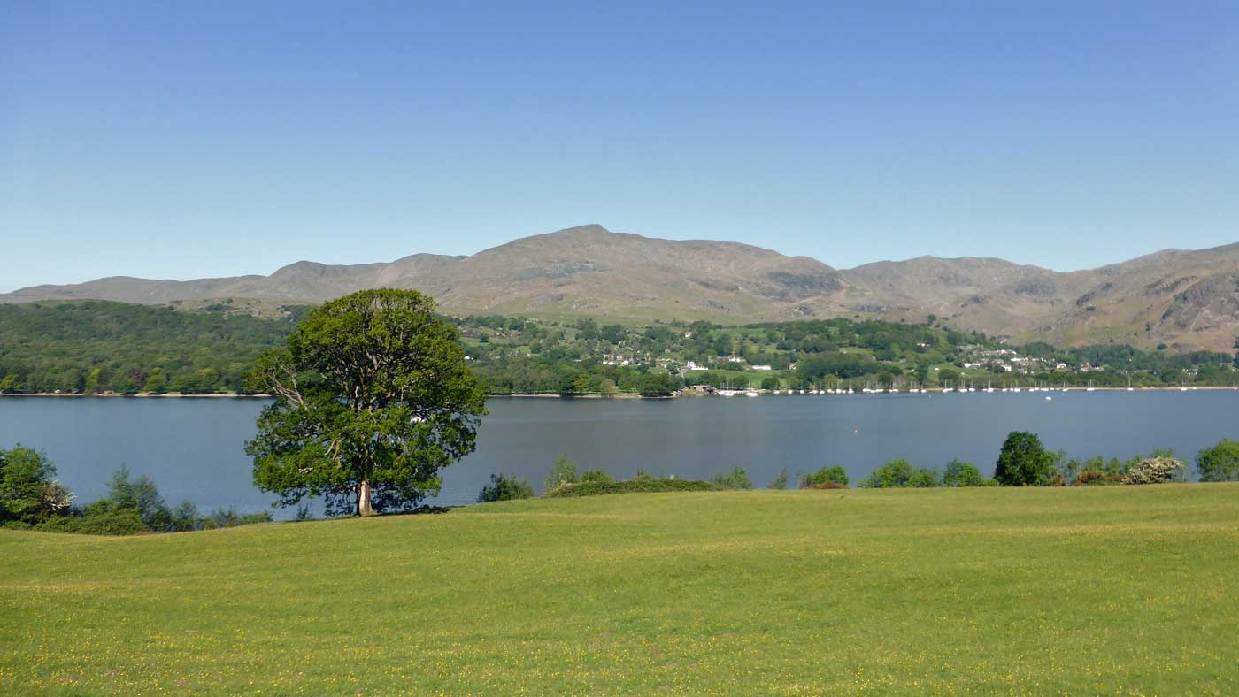 Coniston Water and Coniston Old Man