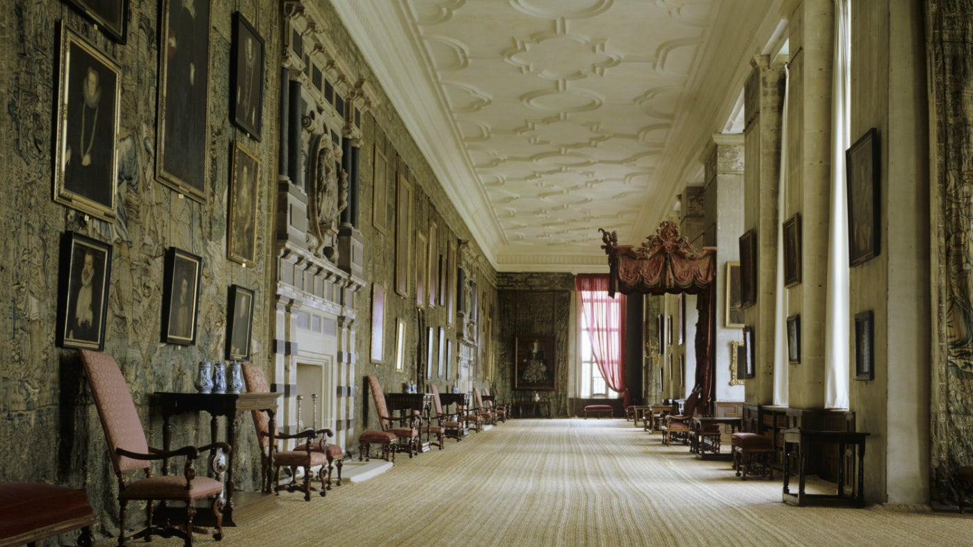 The Long Gallery at Hardwick