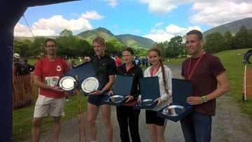 Winners at the Grasmere Gallop