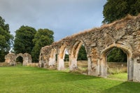Explore the 13th century ruins of Hailes Abbey