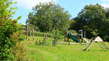 Play park in the orchard