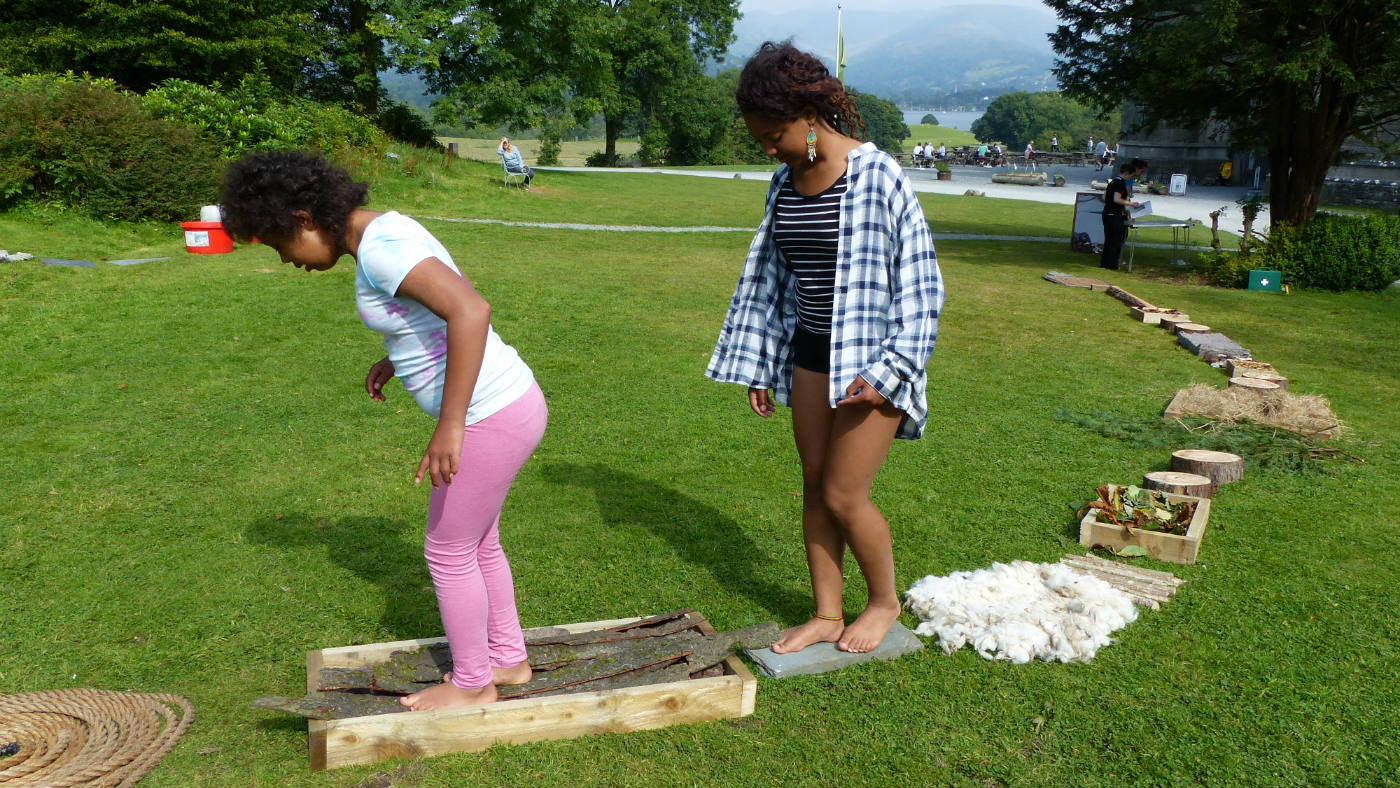 Family summer fun at Wray Castle