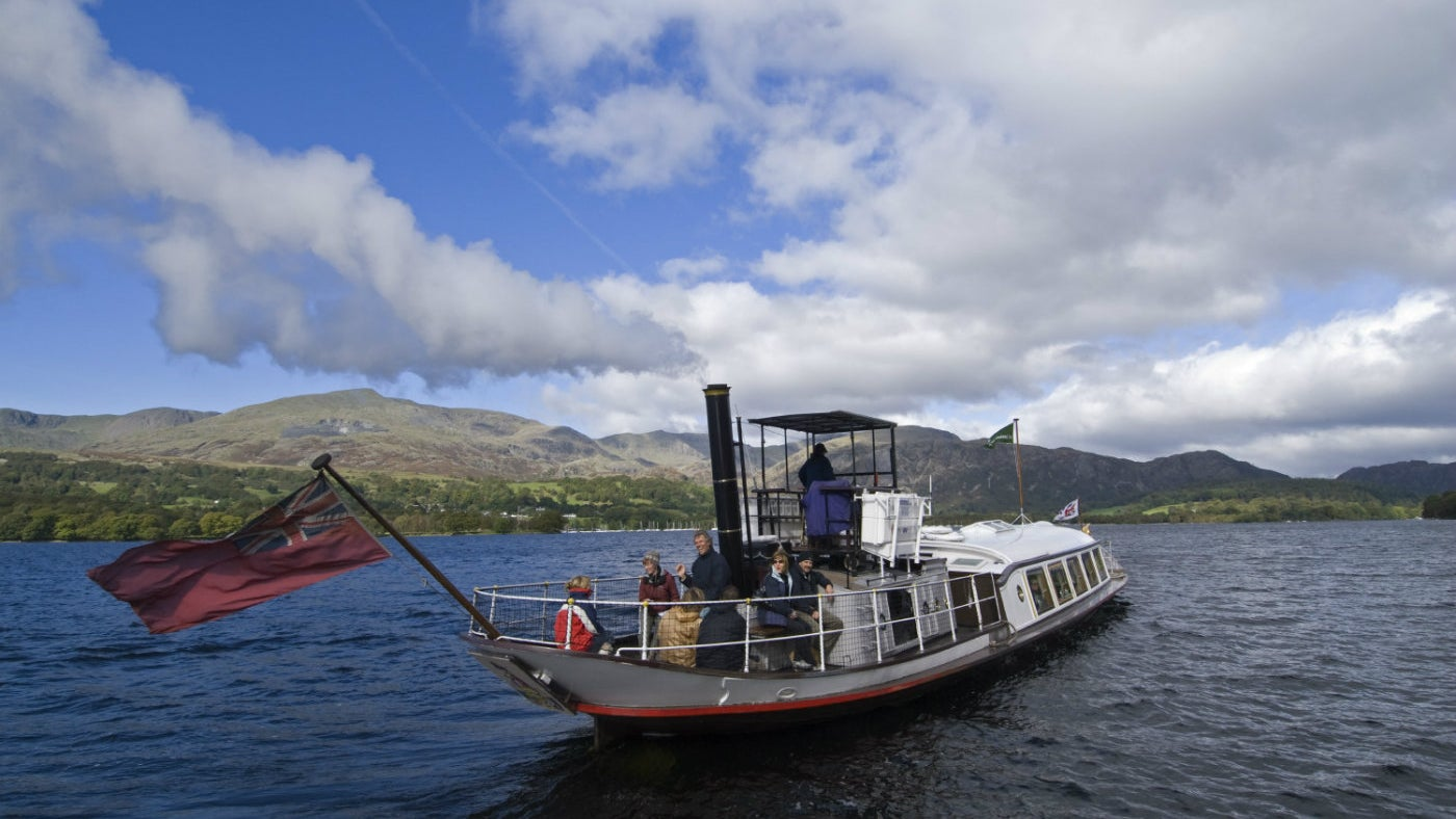 Steam Yacht Gondola on Coniston