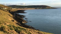 View over Croyde Bay from Baggy Point