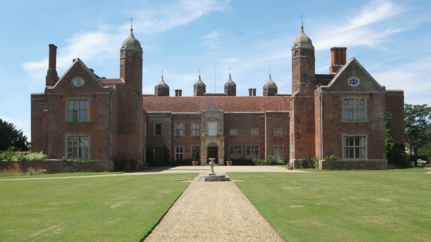 East Front of Melford Hall