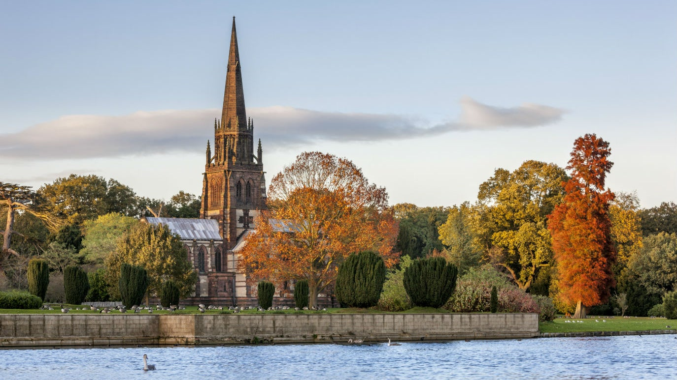 The Chapel at Clumber Park in Autumn