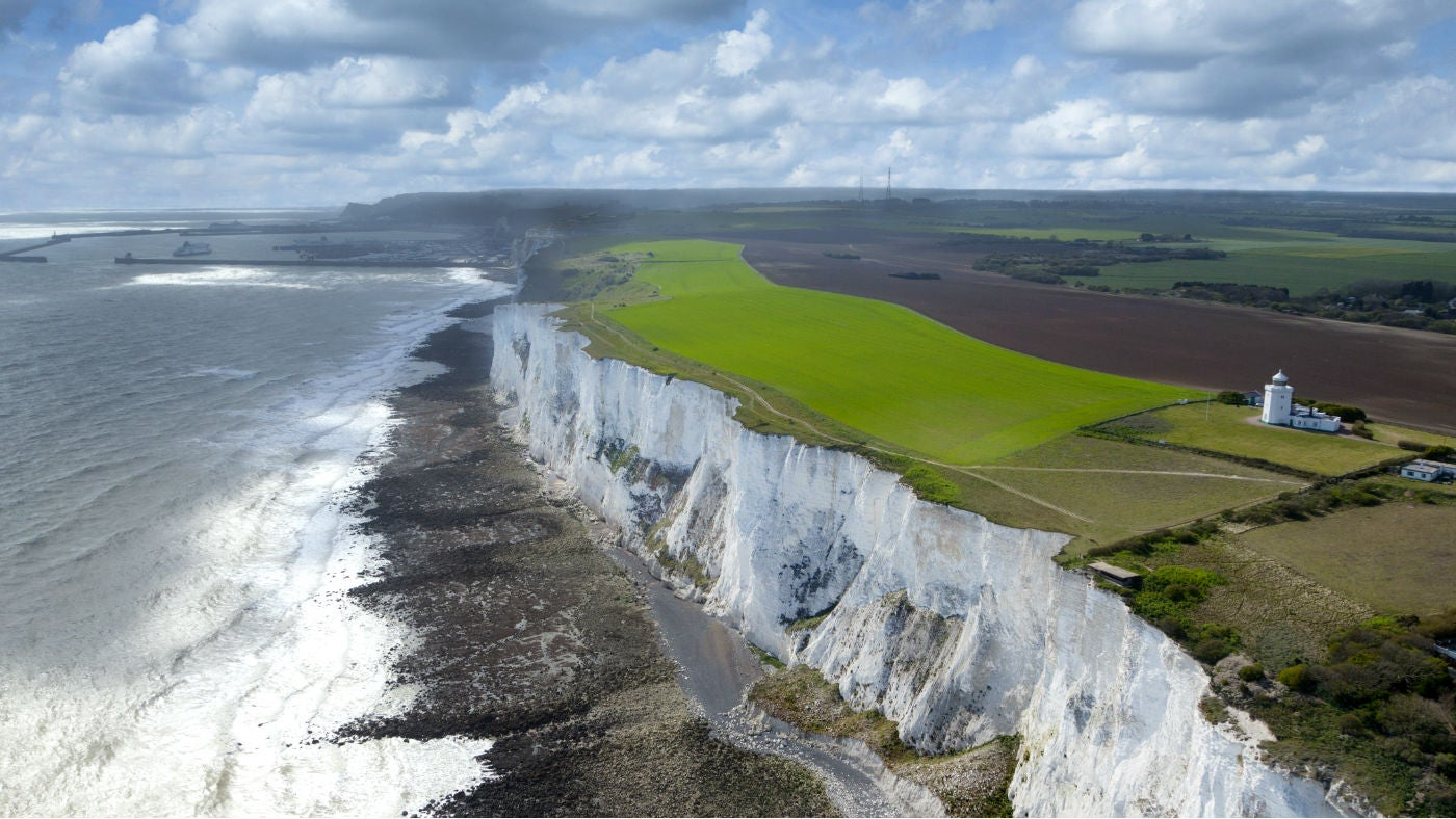 View of White Cliffs of Dover