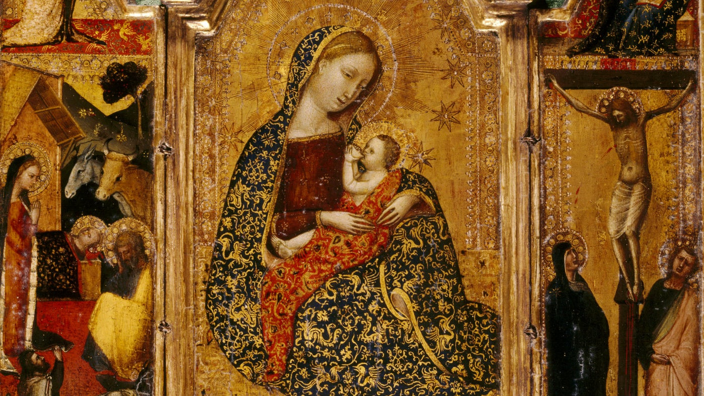 The Madonna of Humility by Francescuccio Ghissi
