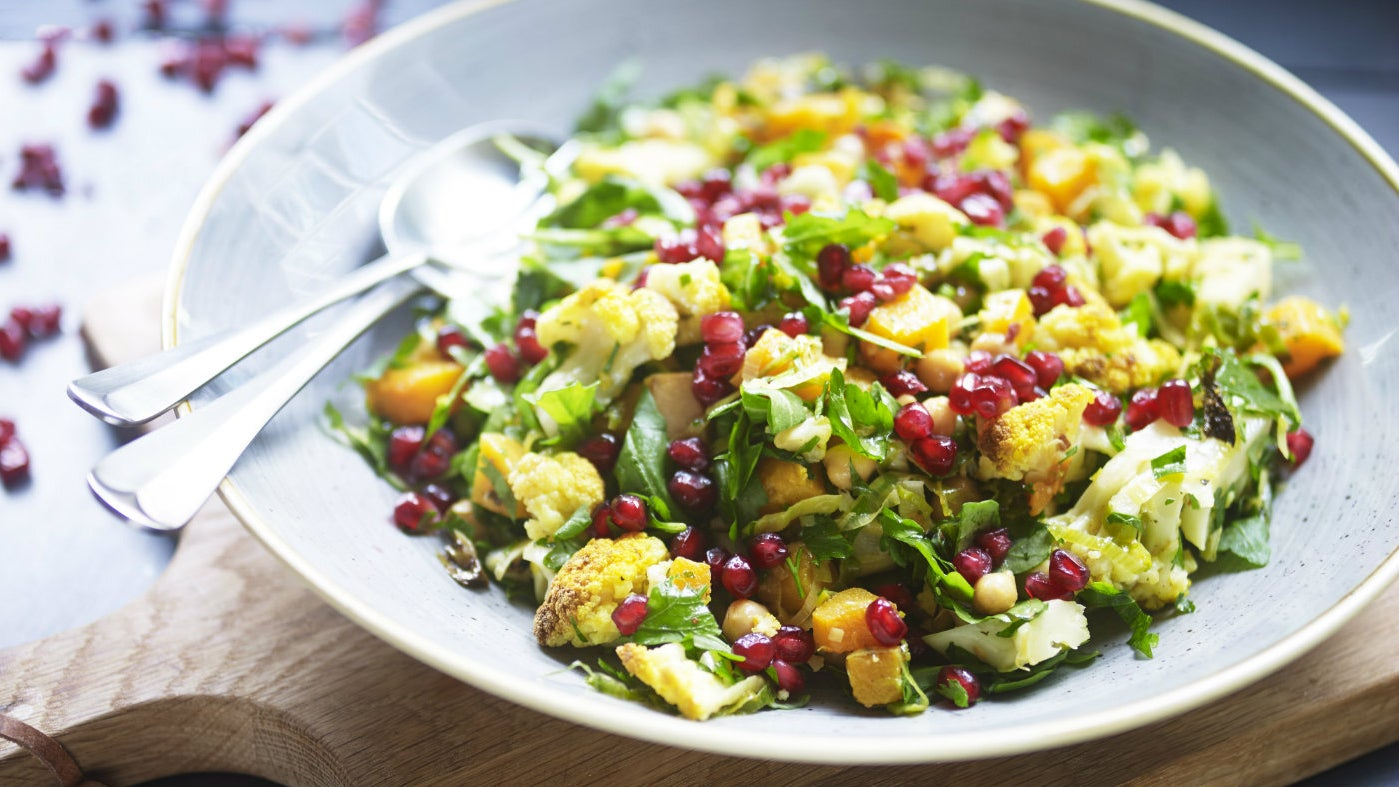 The National Trust's recipe for Moroccan style roasted cauliflower salad