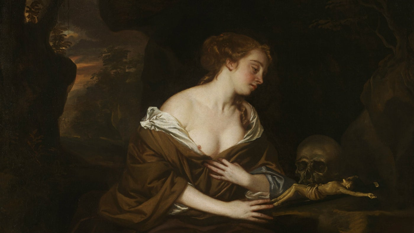 The Penitent Magdalen by Sir Peter Lely