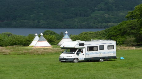 Hoathwaite Campsite, Coniston, Lake District